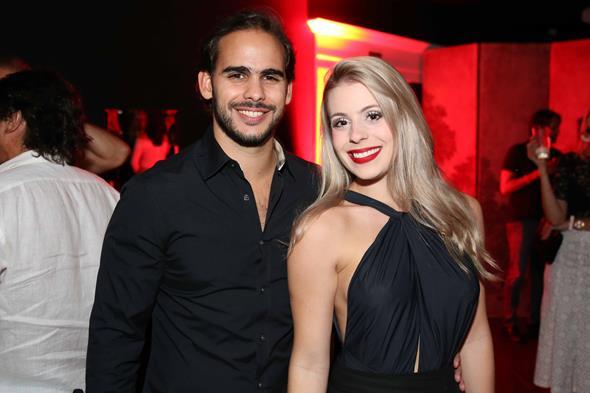 Eduardo Barata e Rebeca Kreibich. Crédito: Guilherme Paiva/Divulgação