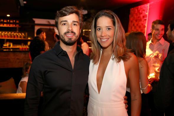 Rafael Lobo e Renata Barroca. Crédito: Guilherme Paiva/Divulgação