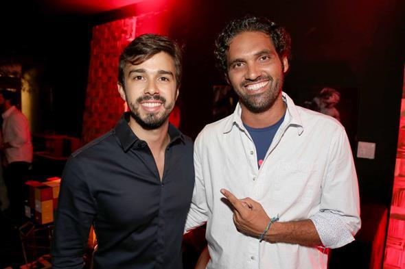 Rafael Lobo e Tuca Noronha. Crédito: Guilherme Paiva/Divulgação