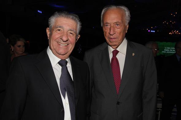 Os provedores Alberto Ferreira da Costa e Armenio Ferreira Diogo. Créditos: Roberto Ramos/DP/D.A Press