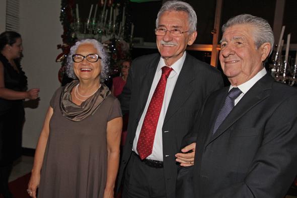 Lucy,  Luciano Sirqueira e o provedor Alberto Ferreira da Costa. Créditos: Roberto Ramos/DP/D.A Press
