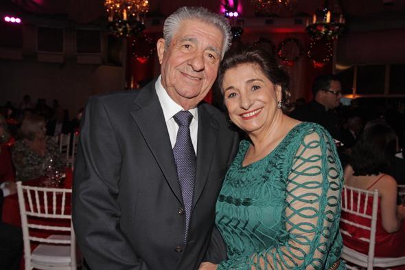 provedor Alberto Ferreira da Costa com sua esposa Carmem Ferreira da Costa. Créditos: Roberto Ramos/DP/D.A Press