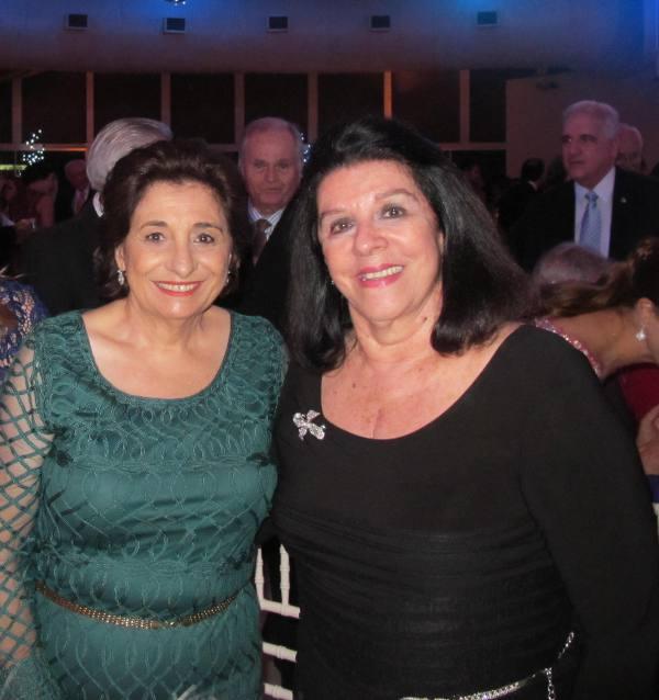 Carmem Ferreira da Costa e Celinha Batista