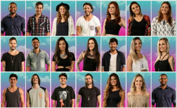 Participantes do Are You the one Brasil - Crédito: Divulgação do programa