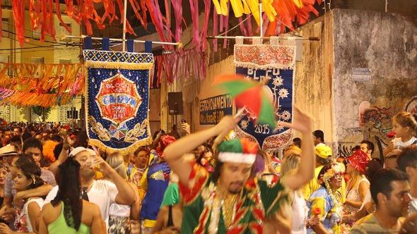 Uma das edições da festa do Bloco da Chuva. Crédito: Divulgação/Bloco da Chuva