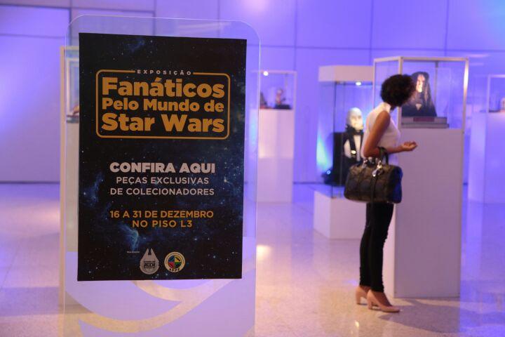 Exposição Star Wars no RioMar- Foto Paloma Amorim/Divulgação