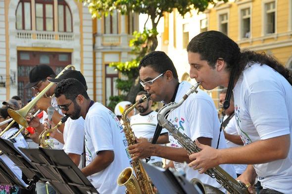 Orquestra Arruando. Crédito: Tiago J Silva/Divulgação