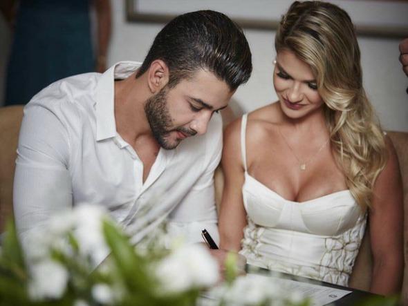 Gusttavo Lima e Andressa Suita. Crédito: João Augusto/Michelle Barzotto/Divulgação