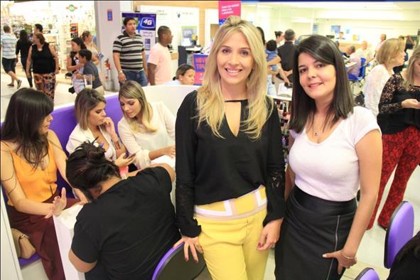Danielle Nagem e Nathalia Galvão. Crédito: Luiz Fabiano/Divulgação