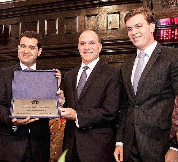 Joaquim Lira, Richard Reiter e Miguel Coelho/Divulgação