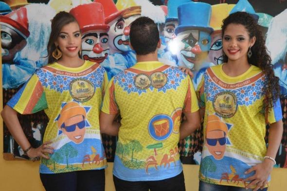 Camisa do Galo da Madrugada 2016. Crédito: Divulgação