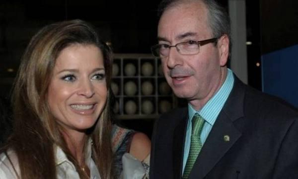 Eduardo Cunha e Cláudia Cruz/Divuolgação