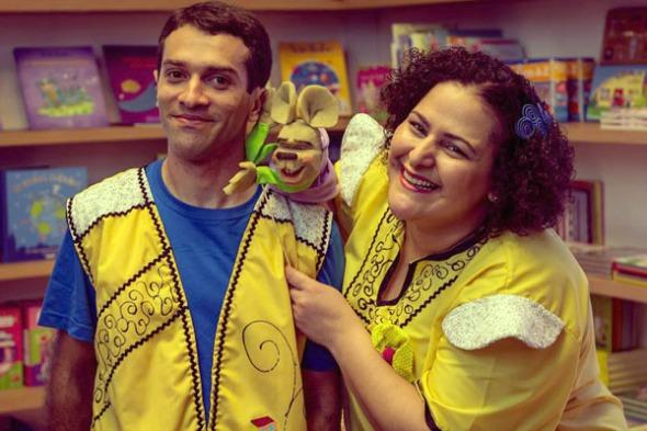 Tio Diego e Susana Morais. Crédito: Divulgação
