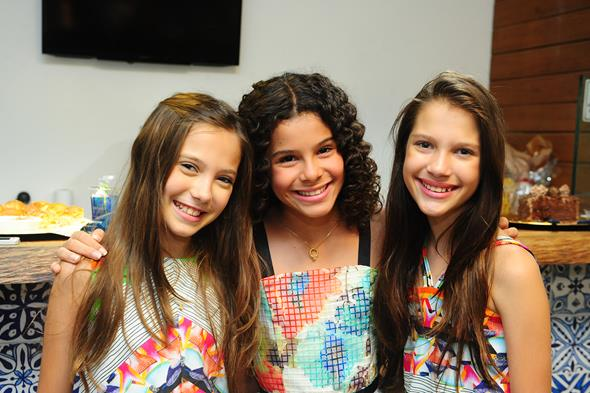 Ana Alice Rio, Gabriella e Ana Tereza Rio. Crédito: Armando Artoni/Divulgação