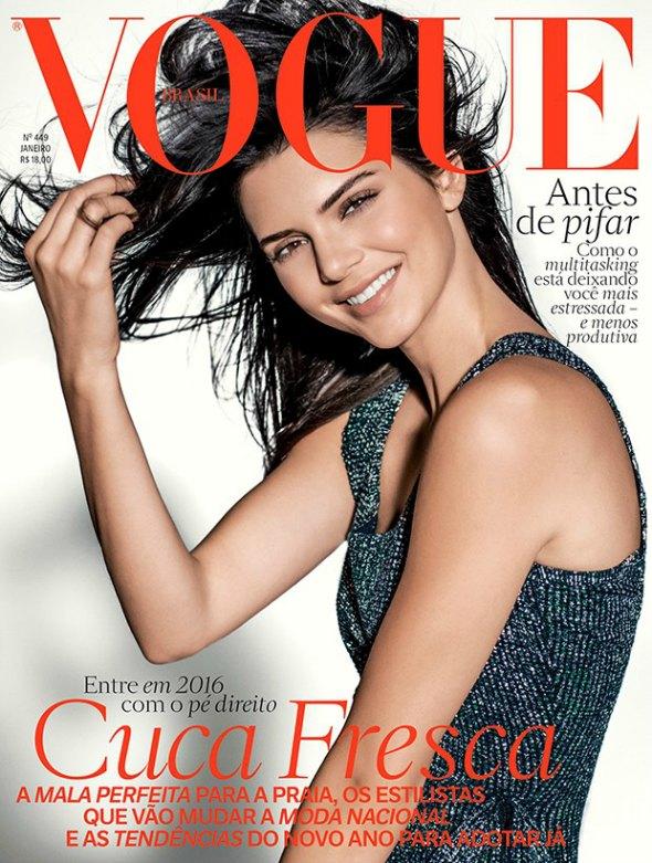 Capa de janeiro da Vogue Brasil Créditos: Reprodução/Vogue.com.br