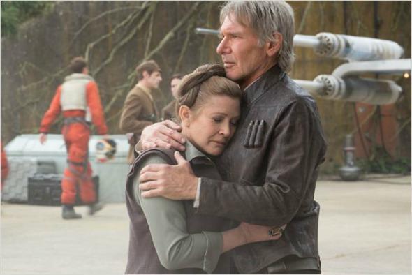 """Cena de """"Star Wars - O Despertar da Força"""". Crédito: Reprodução/Lucasfilm"""