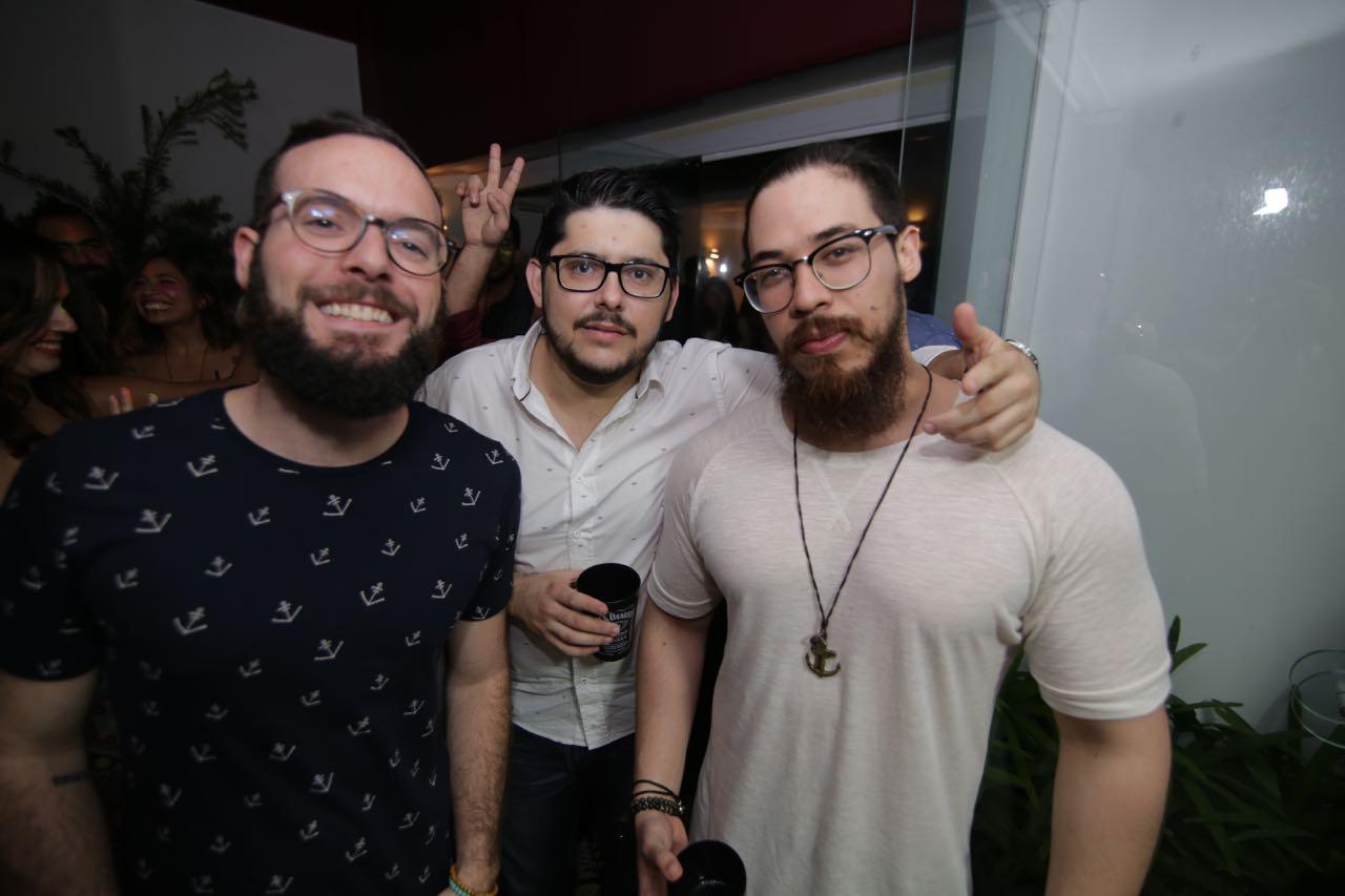 Beto Curra, Agenor Leite e Paulinho Marques - Crédito: Celo Silva/Divulgação