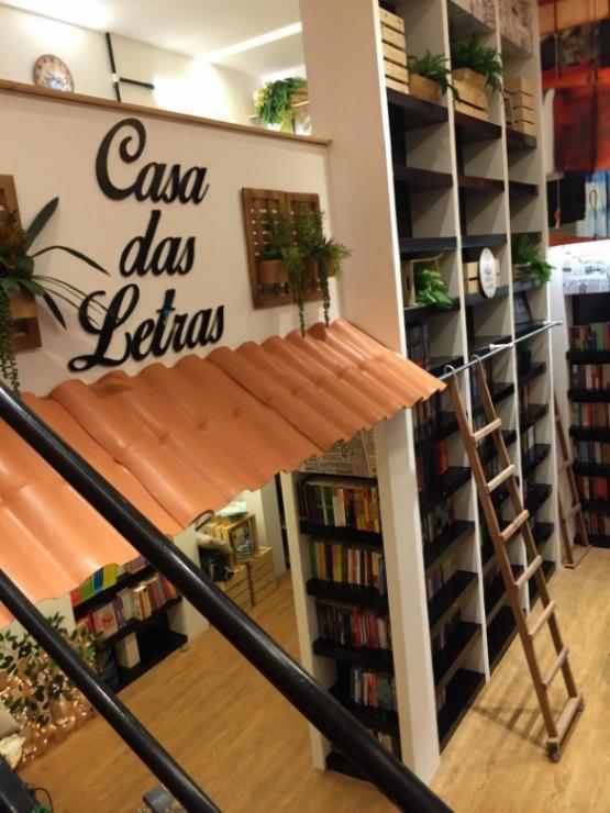 Livraria Casa das Letras, no Shopping Costa Dourada. Crédito: Divulgação