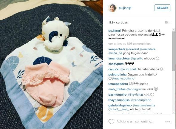 O anúncio foi feito no Instagram da cozinheira. Crédito: Reprodução Instagram
