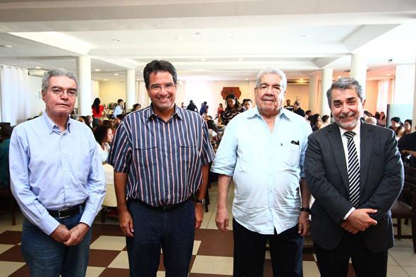 Gladstone Vieira Belo, Alexandre Rands, Joezil Barros e Guilherme Machado Créditos: Paulo Paiva/ DP/DA Press