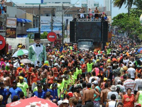 """Desfile do """"Virgens Abraça Brasil"""". Crédito: Divulgação do bloco"""