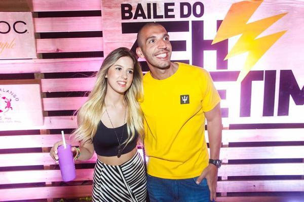 Caroline Fernandes e Rafael Araujo - Crédito: Charles Nasseh/Divulgação