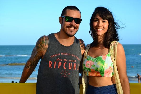 Fernando Leite e Maria Fernanda Cunha. Crédito: Larissa Nunes/Divulgação