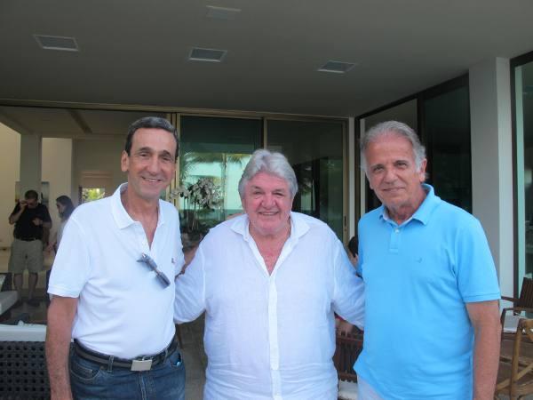 Francisco Falcão, Julião Konrad e José Múcio Monteiro/DP