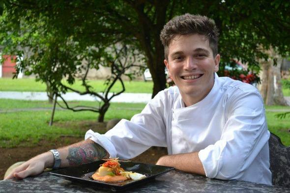 Chef Pedro Godoy. Crédito: Arquivo Pessoal/Divulgação
