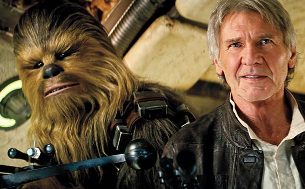 Harrison Ford no novo filme da saga Star Wars. Crédito: Reprodução