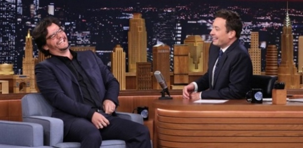 Wagner Moura foi entrevistado por Jimmy Fallon. Crédito: Reprodução/Youtube