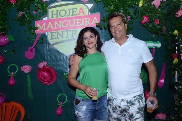 Andrea Macedo e Carlos Pimentel. Crédito: Larissa Nunes / Divulgação