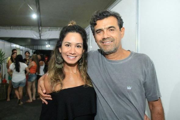 Daliana Martins e Hugo Campos. Crédito: Luiz Fabiano / Divulgação