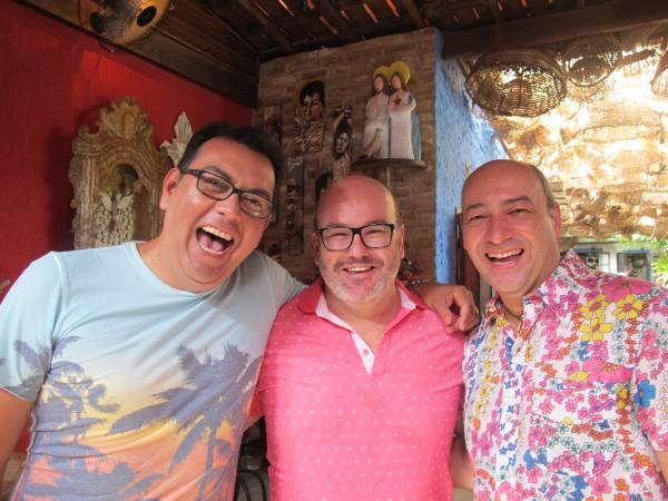 Auricélio Romão, Márcio Costa e Cesar Santos/JAMS