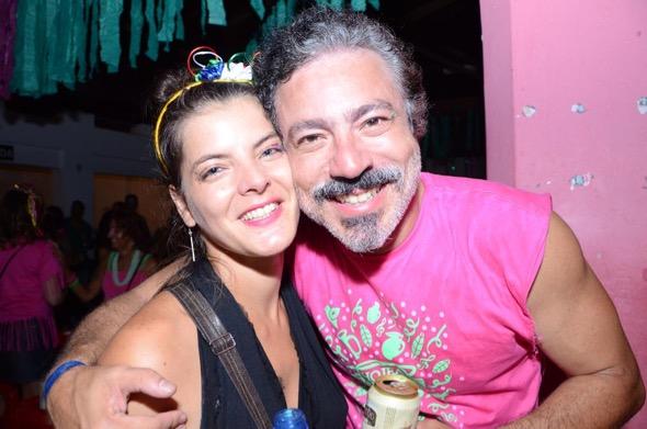 Priscila de Cássia e Halley Maroja. Crédito: Larissa Nunes / Divulgação