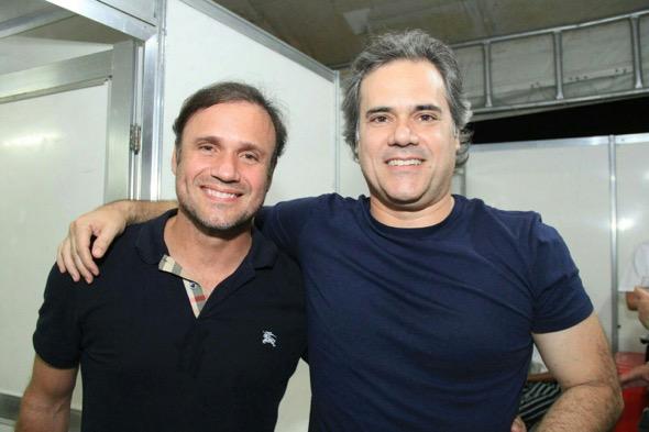 Waldemar Valente e Sílvio Pontual. Crédito: Luiz Fabiano / Divulgação