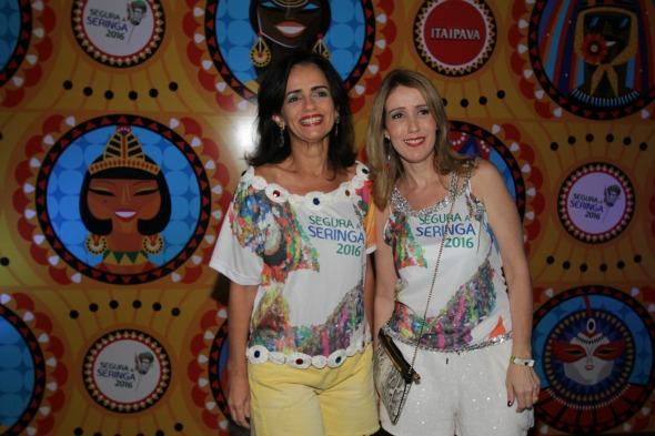 Analice e Maria Amazonas - Crédito: Roberto Ramos/DP