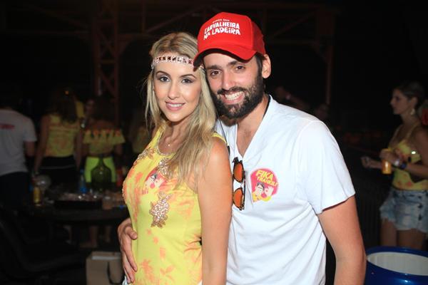 Bruna Monteiro e Jorge Peixoto -  Crédito: Vinícius Ramos/Divulgação