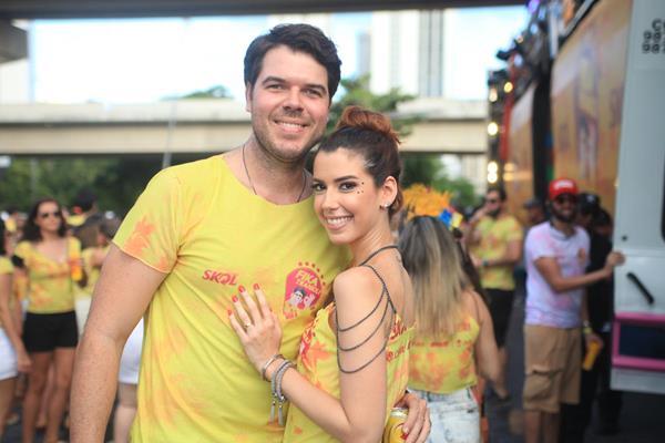 Diego Nunes e Camila Coutinho - Crédito: Vinícius Ramos/Divulgação