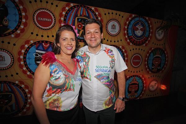 Cristina Melo e Geraldo Julio - Crédito: Roberto Ramos/DP