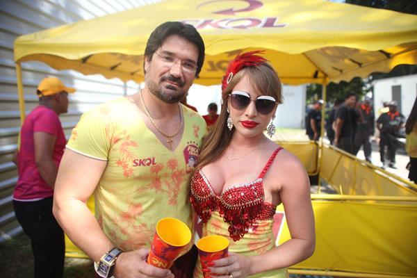 Joaldo e Diana Janguiê -  Crédito: Vinícius Ramos/Divulgação