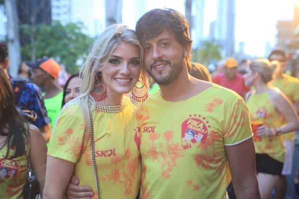 Mariana Costa e Eduardo Cunha -  Crédito: Vinícius Ramos/Divulgação