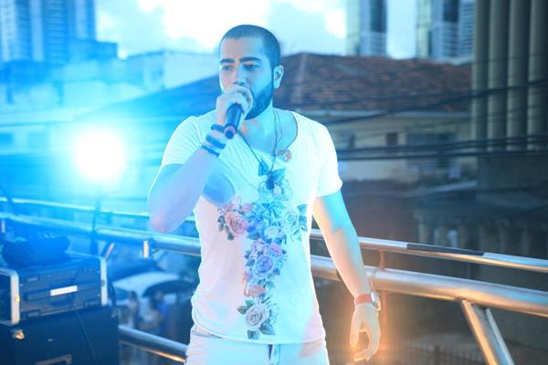 A banda Oito7Nove4 puxou o trio até a Cachaçaria Carvalheira -   Crédito: Vinícius Ramos/Divulgação