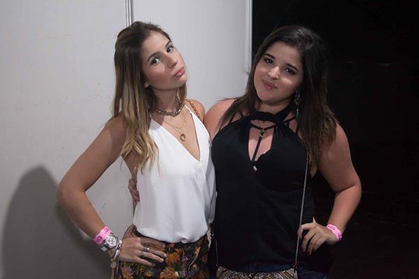 Maria Laura Rosado e Beatriz Alencar -  Crédito: Vito Sormany/Divulgação