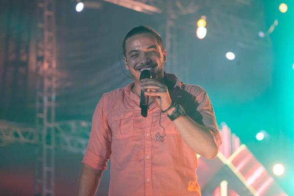 Wesley Safadão no palco do Tamandaré Fest - Crédito: Vito Sormany/Divulgação