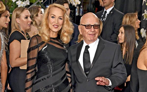 Jerry Hall e Rupert Murdoch/ Divulgação