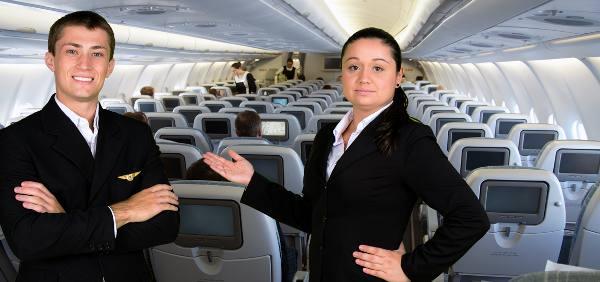 Comissários de bordo/Divulgação
