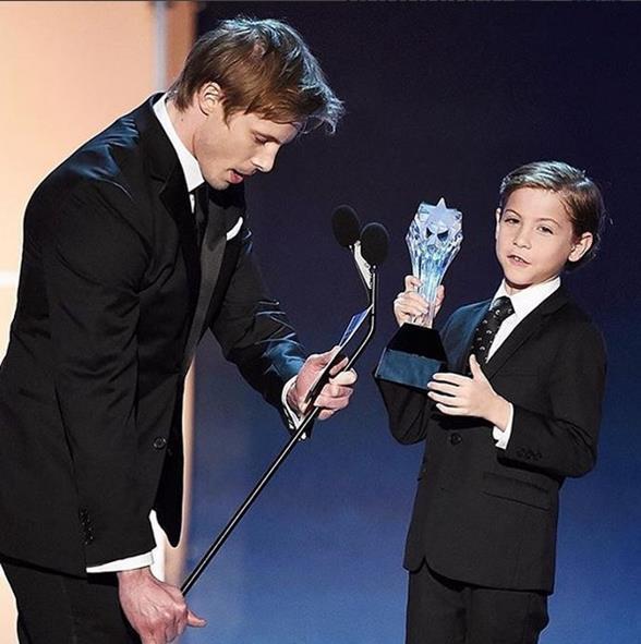 O ator  Jacob Trembley foi o Melhor Ator Jovem por O Quarto de Jack - Crédito: Reprodução/Instagram