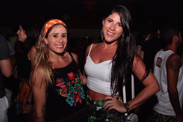Natália Caminha e Juliana Nóbrega - Crédito: Larissa Nunes/Vagalume