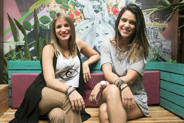 Camilla Eliodoro e Renata Torres. Crédito: Divulgação/2Flowers